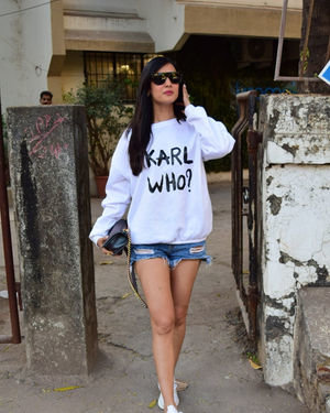 Sonal Chauhan - Photos: Celebs Spotted At Kromakay Salon In Juhu