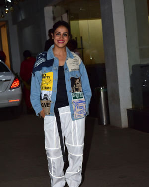 Genelia D Souza - Photos: Screening Of Film Jawani Jaaneman At Sunny Sound
