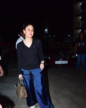 Kareena Kapoor - Photos: Screening Of Film Jawani Jaaneman At Sunny Sound