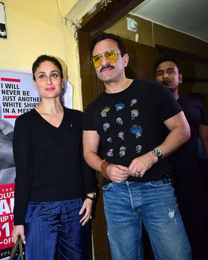 Photos: Screening Of Film Jawani Jaaneman At Sunny Sound
