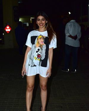 Alaya Furniturewala - Photos: Screening Of Film Jawani Jaaneman At Sunny Sound | Picture 1717871