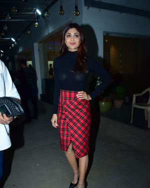 Shilpa Shetty - Photos: Screening Of Film Jawani Jaaneman At Sunny Sound
