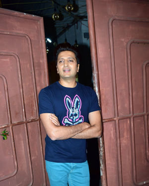 Ritesh Deshmukh - Photos: Screening Of Film Jawani Jaaneman At Sunny Sound