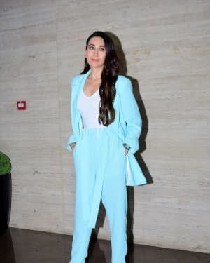 Karisma Kapoor - Photos: Coolie No 1 Wrap Up Party At Jackky Bhagnani's House | Picture 1724276