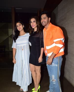 Photos: Coolie No 1 Wrap Up Party At Jackky Bhagnani's House