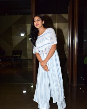 Sara Ali Khan - Photos: Coolie No 1 Wrap Up Party At Jackky Bhagnani's House | Picture 1724239