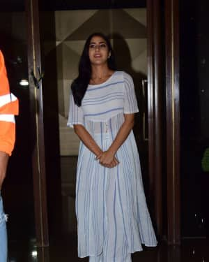 Sara Ali Khan - Photos: Coolie No 1 Wrap Up Party At Jackky Bhagnani's House | Picture 1724241