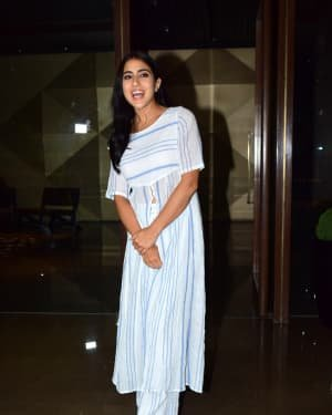 Sara Ali Khan - Photos: Coolie No 1 Wrap Up Party At Jackky Bhagnani's House | Picture 1724238