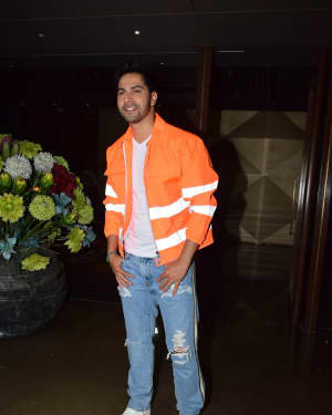Varun Dhawan - Photos: Coolie No 1 Wrap Up Party At Jackky Bhagnani's House