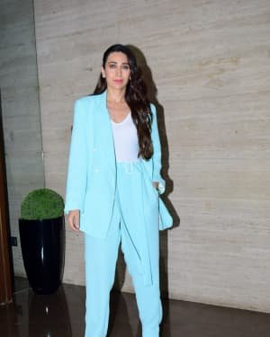 Karisma Kapoor - Photos: Coolie No 1 Wrap Up Party At Jackky Bhagnani's House | Picture 1724275