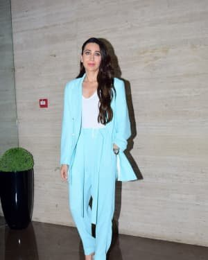 Karisma Kapoor - Photos: Coolie No 1 Wrap Up Party At Jackky Bhagnani's House | Picture 1724274