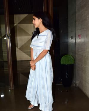 Sara Ali Khan - Photos: Coolie No 1 Wrap Up Party At Jackky Bhagnani's House | Picture 1724240