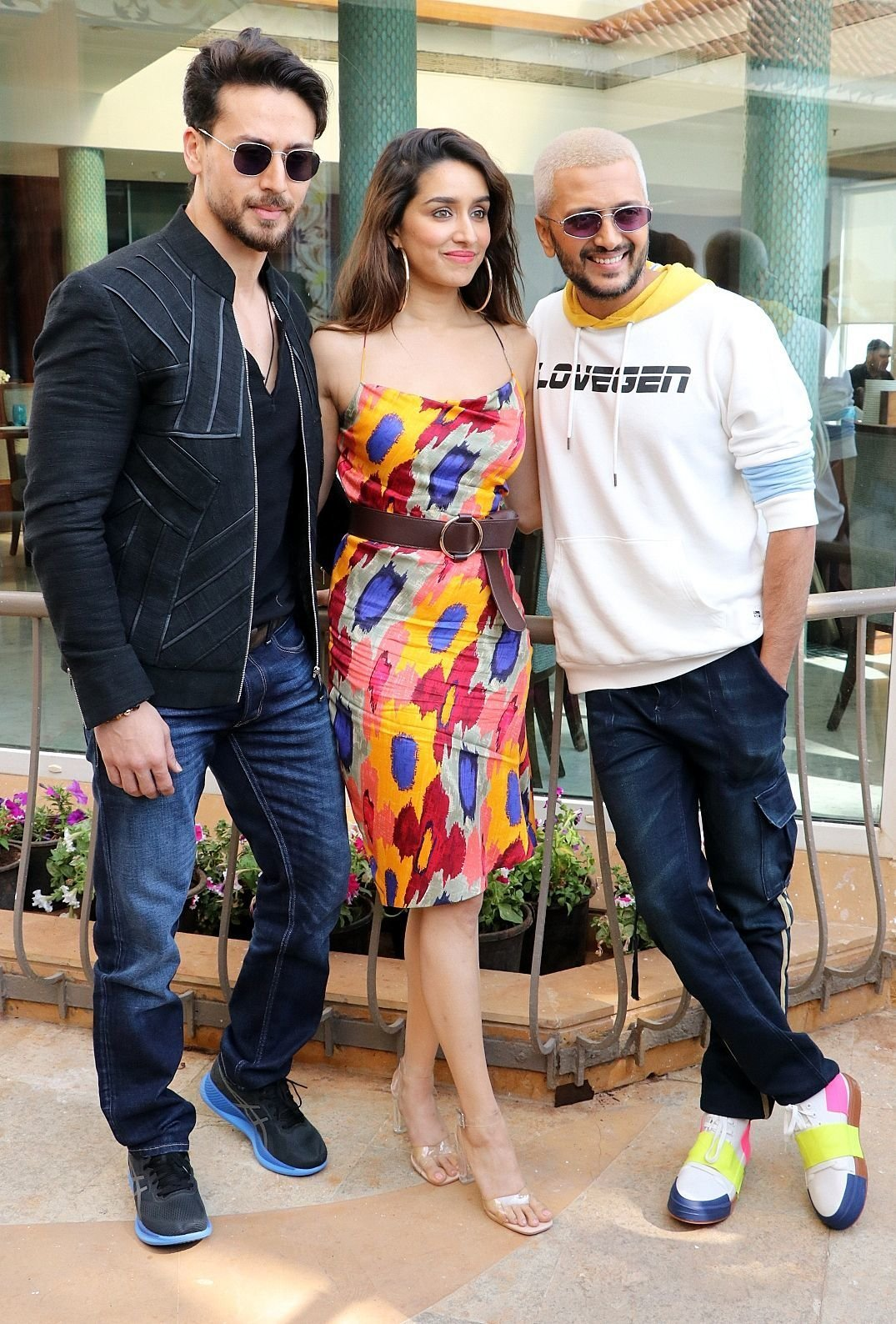 Photos: Promotion Of Film Baaghi 3 At Sun N Sand | Picture 1724737