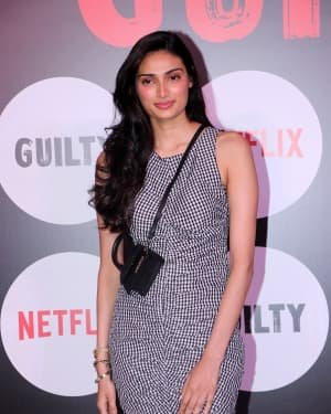 Athiya Shetty - Photos: Special Screening Of Web Film Guilty