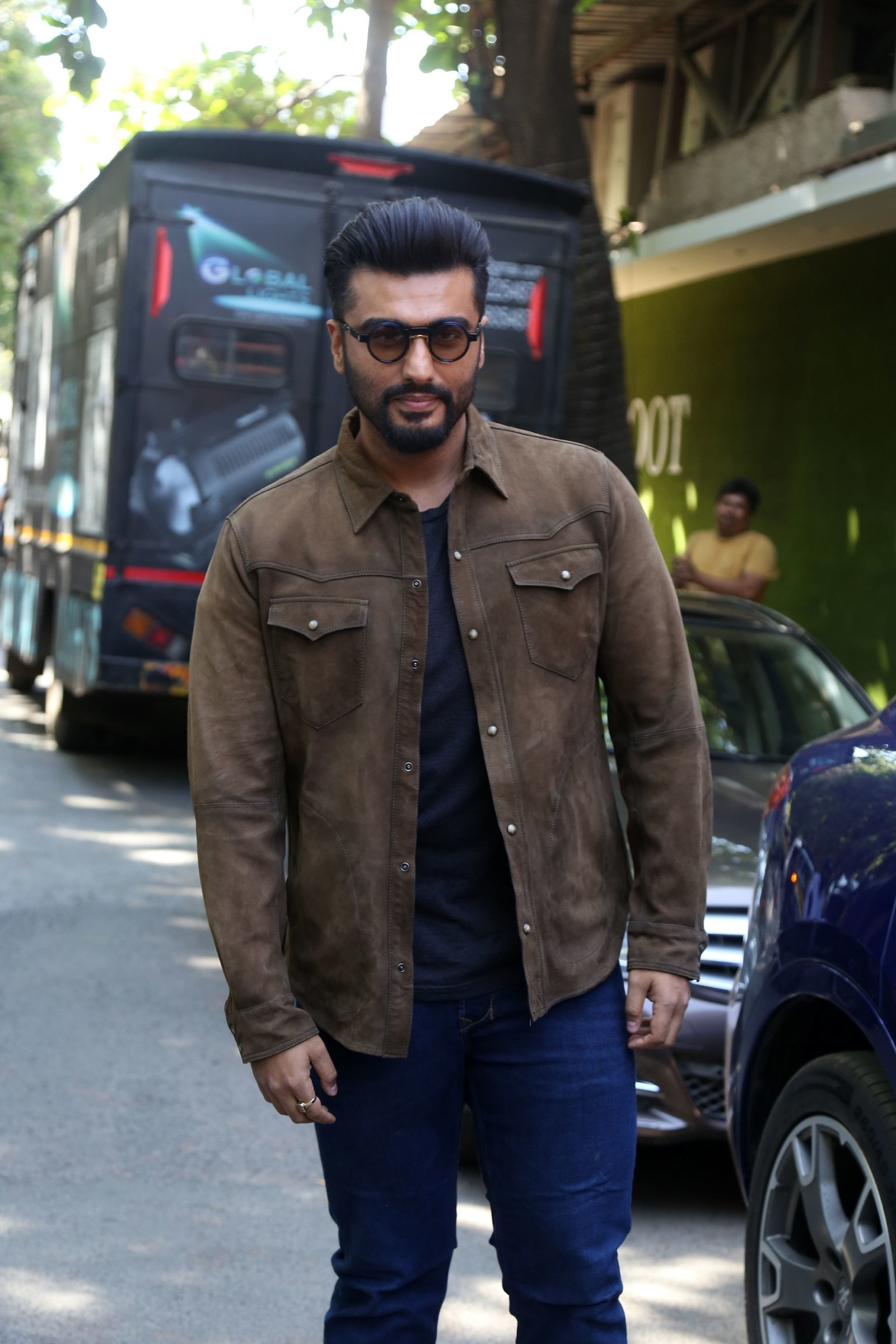 Arjun Kapoor - Photos: Promotion Of Film Sandeep Aur Pinky Faraar At Andheri | Picture 1725804