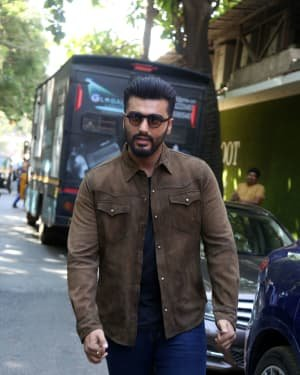 Arjun Kapoor - Photos: Promotion Of Film Sandeep Aur Pinky Faraar At Andheri | Picture 1725803