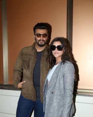 Sandeep Aur Pinky Faraar - Photos: Promotion Of Film Sandeep Aur Pinky Faraar At Andheri