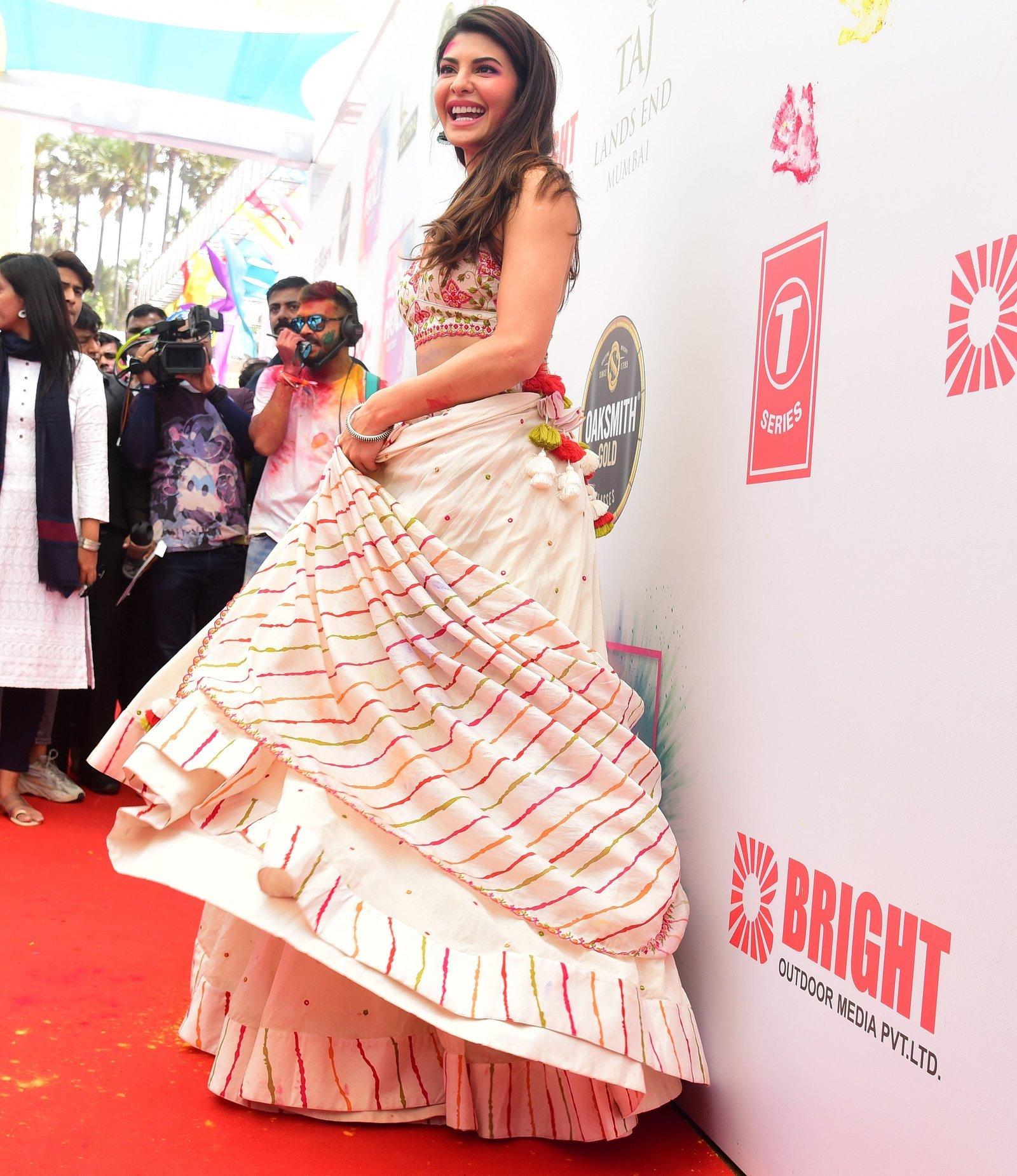 Jacqueline Fernandez - Photos: Zoom Holi Party 2020 At Taj Lands End   Picture 1725832