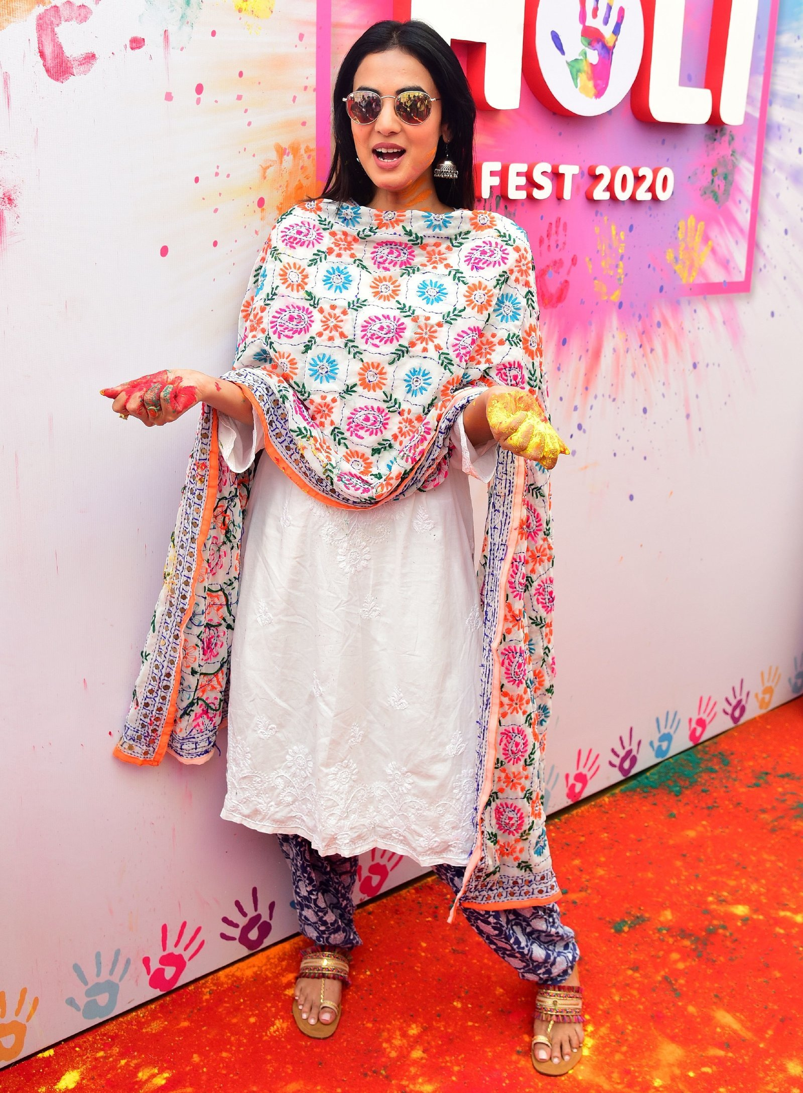 Sonal Chauhan - Photos: Zoom Holi Party 2020 At Taj Lands End | Picture 1725839