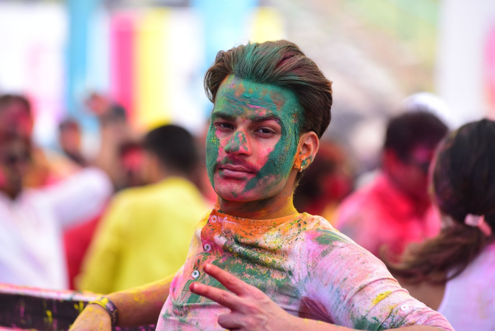Photos: Zoom Holi Party 2020 At Taj Lands End | Picture 1725814