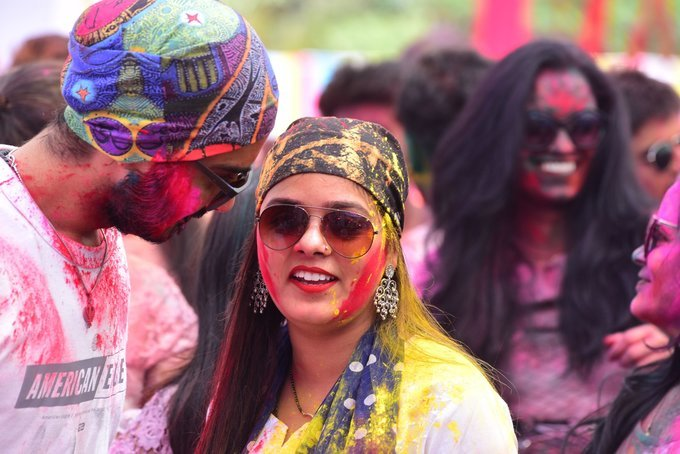 Photos: Zoom Holi Party 2020 At Taj Lands End   Picture 1725812