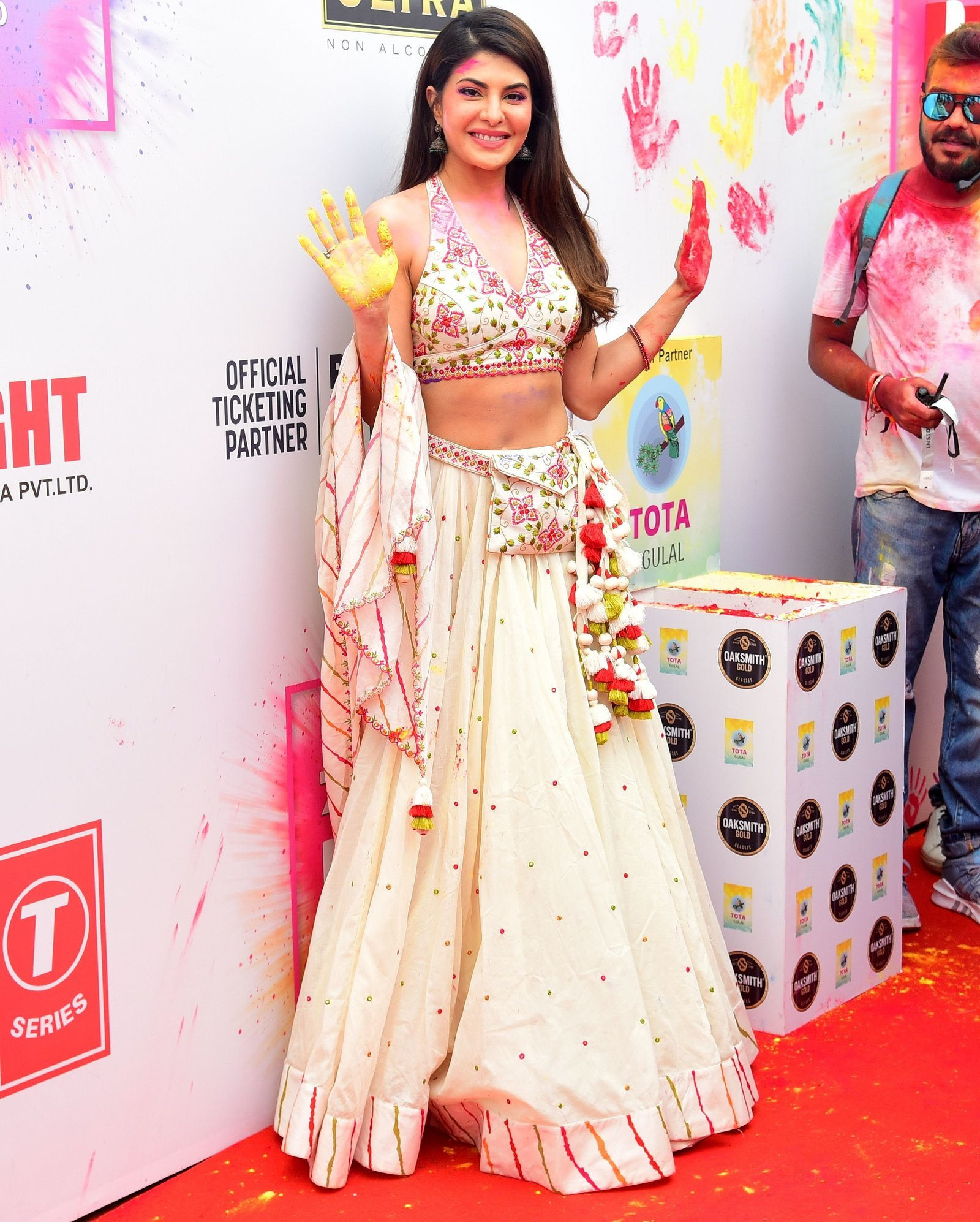 Jacqueline Fernandez - Photos: Zoom Holi Party 2020 At Taj Lands End | Picture 1725823