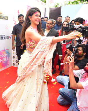 Jacqueline Fernandez - Photos: Zoom Holi Party 2020 At Taj Lands End | Picture 1725825