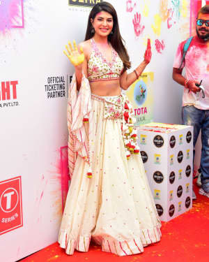 Jacqueline Fernandez - Photos: Zoom Holi Party 2020 At Taj Lands End