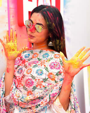Sonal Chauhan - Photos: Zoom Holi Party 2020 At Taj Lands End | Picture 1725841