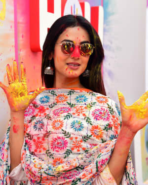 Sonal Chauhan - Photos: Zoom Holi Party 2020 At Taj Lands End