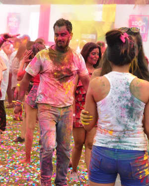 Photos: Zoom Holi Party 2020 At Taj Lands End
