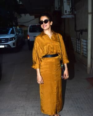 Sanya Malhotra - Photos: Celebs Spotted At Andheri | Picture 1726492