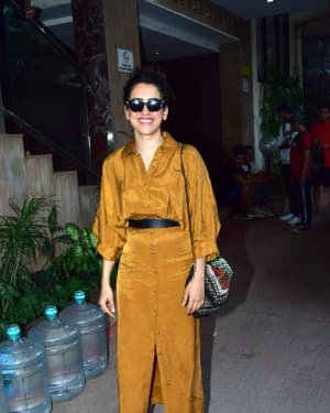 Sanya Malhotra - Photos: Celebs Spotted At Andheri | Picture 1726487