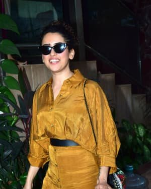 Sanya Malhotra - Photos: Celebs Spotted At Andheri