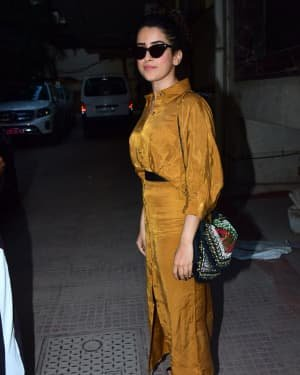 Sanya Malhotra - Photos: Celebs Spotted At Andheri | Picture 1726490
