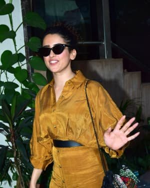 Sanya Malhotra - Photos: Celebs Spotted At Andheri | Picture 1726489