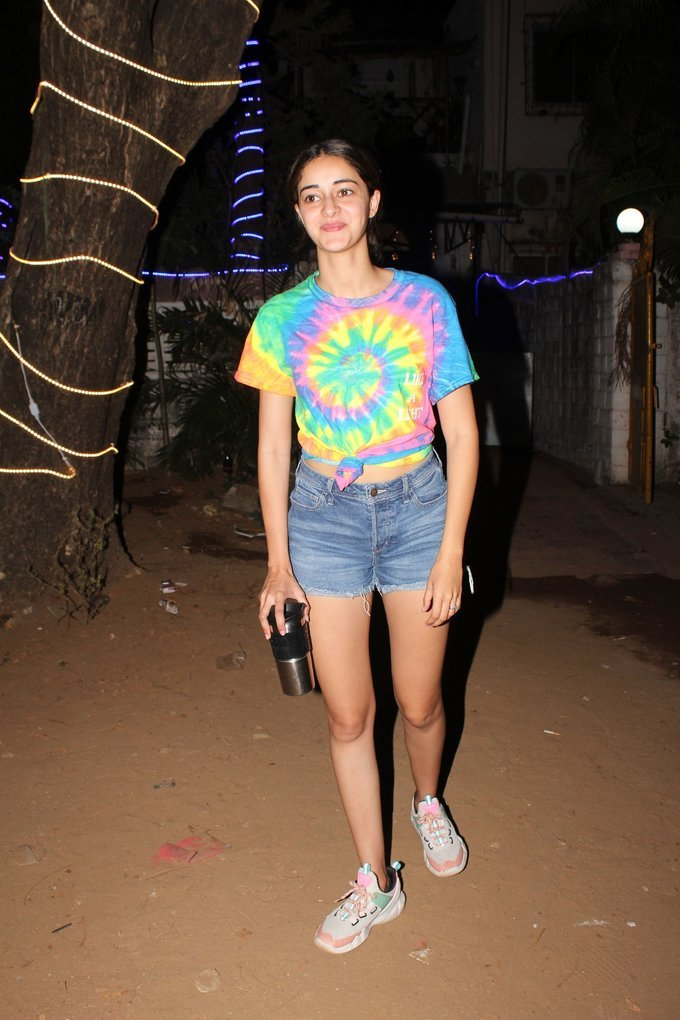 Ananya Panday - Photos: Celebs Spotted At Dance Class In Andheri   Picture 1726495