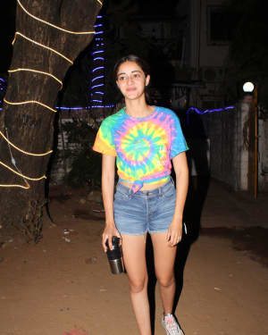 Ananya Panday - Photos: Celebs Spotted At Dance Class In Andheri | Picture 1726495