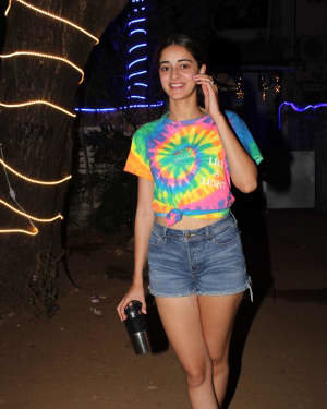 Ananya Pandey - Photos: Celebs Spotted At Dance Class In Andheri