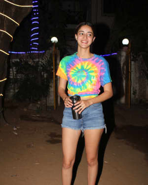 Ananya Panday - Photos: Celebs Spotted At Dance Class In Andheri | Picture 1726497