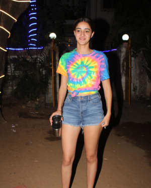 Ananya Panday - Photos: Celebs Spotted At Dance Class In Andheri | Picture 1726498