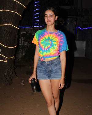 Ananya Panday - Photos: Celebs Spotted At Dance Class In Andheri | Picture 1726494