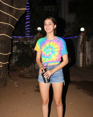 Ananya Panday - Photos: Celebs Spotted At Dance Class In Andheri | Picture 1726496