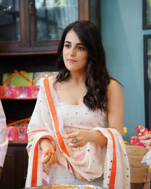 Photos: Radhika Madan Turns Halwai During The Promotions Of Angrezi Medium | Picture 1726362