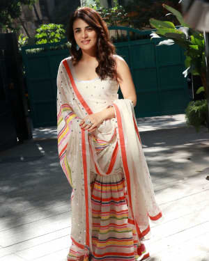 Photos: Radhika Madan Turns Halwai During The Promotions Of Angrezi Medium | Picture 1726367