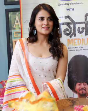 Photos: Radhika Madan Turns Halwai During The Promotions Of Angrezi Medium | Picture 1726356