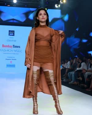 Photos: Tamanna Bhatia Ramp Walk At Bombay Times Fashion Week 2020 | Picture 1726690