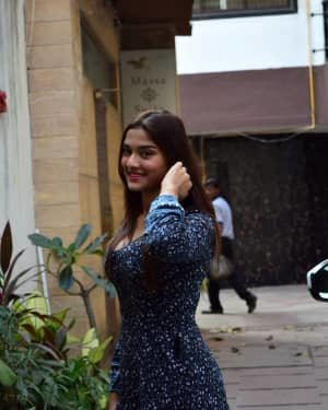 Saiee Manjrekar - Photos: Celebs Spotted At Juhu | Picture 1726907