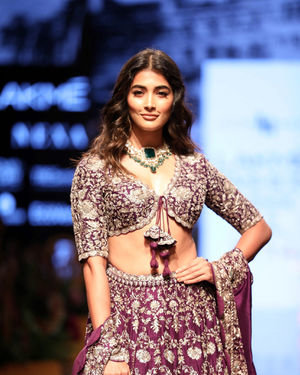 Pooja Hegde - Photos: Lakme Fashion Week Winter Festive 2019 - Day 3