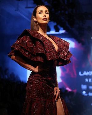Malaika Arora - Photos: Lakme Fashion Week Winter Festive 2019